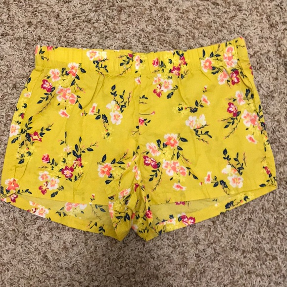 Old Navy Pants - Old Navy: Floral Cotton Shorts